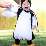 costume carnevale pinguino handmade
